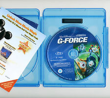 Walt Disney's G-Force family PG movie Blu-ray & Rewards, NO DVD guinea pigs Cage
