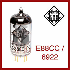 Telefunken Black Diamond E88CC / 6922 Preamp Vacuum Tube - 1 Piece