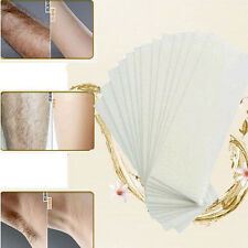 100pcs Hair Removal Depilatory Epilator Cold Wax Strips Paper Pad For Face Legs