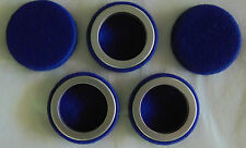 5 VINTAGE Coleman Blue Felt FILTERS For Coleman Funnel Lantern or Stove UNUSED