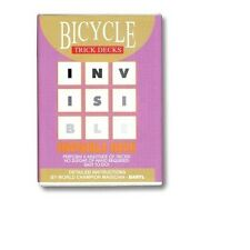 Invisible Deck Bicycle (Red) - Trick
