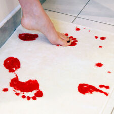 New Style Blood Bath Set Shower Gel Towel Mat Bloody Horror Scary Halloween