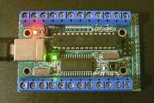 USB-µPIO / MCS; AVR Board Schraubklemmen/Bootloader