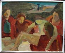 Helge Frender 1906-1976, Grablegung Jesu , Bild aus dem Nachlass