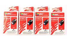 """4 x MMC cartouche d'imprimante noir 28 ML """"gc-00003e - BK"""" pour Canon pixma ip3000 BJC -"""