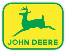 John Deere logo sign adesivo etichetta sticker 13cm x 10cm