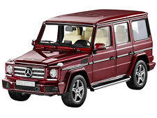 Mercedes-Benz G-Model G500 W463 Thulitrot Met. 1:18 - Sammlermodell iScale