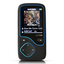 AGPTEK® Portable Bluetooth MP3 Music Player with FM Lossless Support up to 64 GB