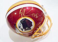 Brian Orakpo Signed Washington Redskins Full Size Football Helmet w/COA F/S