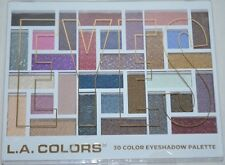 L.A. Colors 30 Eyeshadow Palette Back To Basics Sexy Matte & Shimmer New Unused