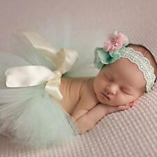 US Newborn Baby Girls Boys tutu Dress Costume Photo Photography Prop Outfits D10