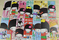 30pcs Lovely Japanese Girl Paper Bookmarks For Gift Present Souvenirs Prize