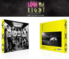EXO [ LOVE ME RIGHT ] KOREAN VERSION- 2ND REPACKAGE ALBUM + Random Photo Card