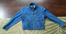 1980's MAVERICK Blue Bell Denim Jacket / Size: 44 / Made in USA / Used
