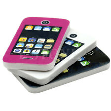 Cute Mobile Phone Shaped Rubber Pencil Eraser Students Stationery Gift Toy 1Pc