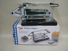 New Tala French Fry Cutter Chip Slicer Chrome Plated Potato Chipper Ref 13051