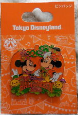 Disney Pin Japan TDL Halloween 2014 Mickey Mouse & Minnie Mouse New