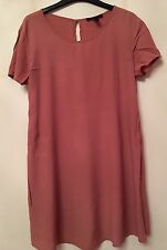 Forever 21 Light Pink Swing Dress, Large Size