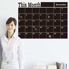 Pegatina pared Memo Board Calendario Pizarra de cita descriptible Agenda