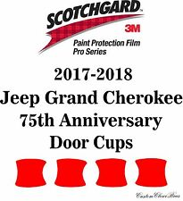 3M Scotchgard Paint Protection Film Pro Serie 2017 2018 Jeep Grand Cherokee 75th