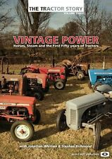 THE TRACTOR STORY VOLUME 3 - VINTAGE POWER - Horses- Steam - Tractors - NEW DVD