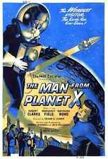 Man From Planet X Poster 06 Metal Sign A4 12x8 Aluminium