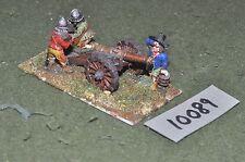 25mm english civil war 1 gun & crew artillery (10089)