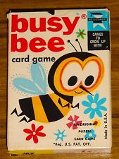 Busy Bee Card Game 1965 Ed-U-Cards