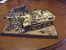 Built 1/35 WW2 Jagdpanther Diorama