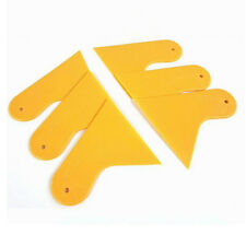 2Pcs Bubble Plastic Scraper Tool car Carbon Fiber Vinyl sticker Film applicator