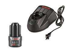 Bosch BAT414 + BC330 NEW 12V Battery + Charger, 2.0Ah HC Li-Ion Warranty