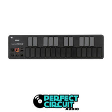 Korg nanoKEY2 nano KEY 2 USB MIDI Controller BLACK - NEW - PERFECT CIRCUIT