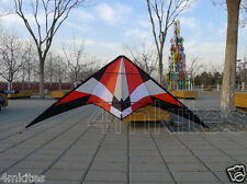 2.2m dul line stunt kite with dyneema flying lines
