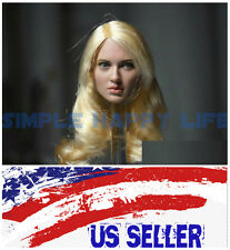 ❶❶ Emily Browning 1/6 Head Sculpt Sucker Punch for Hot Toys Phicen Kumik USA❶❶