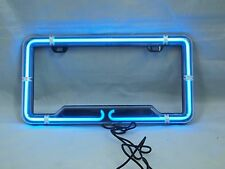 Neon Light License Plate Frame Bulbs FORD RAM GMC CHEVROLET CADILLAC JEEP
