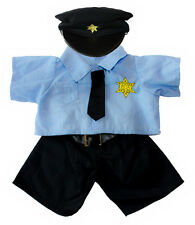 """Policeman Outfit 16""""(40cm ) by Teddy Mountain will fit Build a Bear"""
