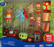 LARGE IN THE NIGHT GARDEN ACTION FIGURE FIGURINES & NINKY NONK TRAIN SET KID TOY