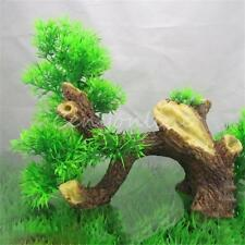 Plastic Vivid Bonsai Wood Tree Aquarium Fish Tank Ornament Decoration Furnishing