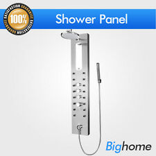 "LIMITED QTY 51"" Stainless Steel Shower Panel Rainfall Style Massage Jets System"