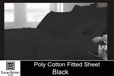Pure Egyption Luxury Poly Cotton Duvet Mattress Fitted Sheets & Pillowcases Set