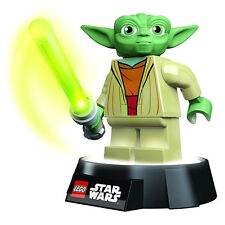 Official LEGO Star Wars Yoda LED Night Light Torch - Lamp Boxed Jedi Master New