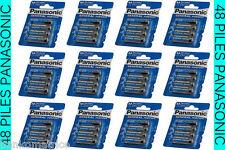 LOT DE 48 Piles PANASONIC MIGNON LR6 1.5V AA • Prix sacrifié • PRIX K.O •