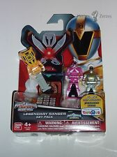 Power Rangers Super Megaforce Legendary Key Pack RESCUE Titanium Pink Yellow NIB