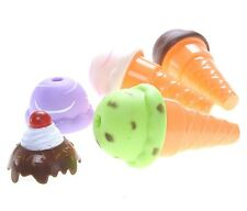 Ice Cream Parlor Pretend Play Set Kids Imagination Toys Learning Steps Colorful
