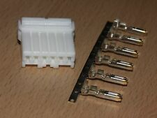 Harley Davidson OEM Amp/Tyco 6 Wire White Multi-lock MALE Connector & Terminals