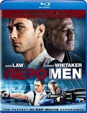 REPO MEN New Blu-ray Unrated + Theatrical Versions Jude Law Forest Whitaker
