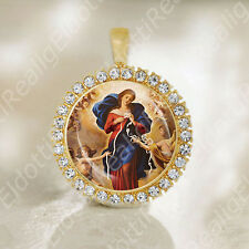 Our Lady Untier of Knots Mother Mary Medal Catholic Religious Jewelry