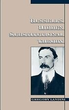 Russell's Hidden Substitutional Theory by Gregory Landini (1998, Hardcover)