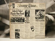 JOHN LENNON YOKO ONO PLASTIC ONO BAND FRANK ZAPPA  SOME TIME IN NEW YORK CITY LP