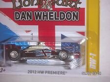 HOT WHEELS 2012  HW PREMIERE  DW-1  LIONHEART DAN WHELDON  REAL RIDERS  1:64